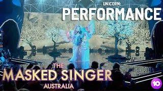 The Unicorn Performs: Perfect   Season 1 Ep 1   The Masked Singer Australia
