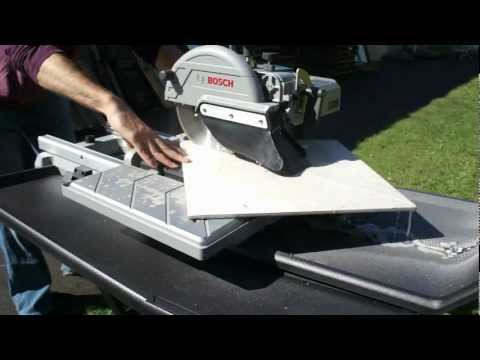 Part 2 2 Harbor Freight 10 2 5 Hp Tile Brick Saw Review