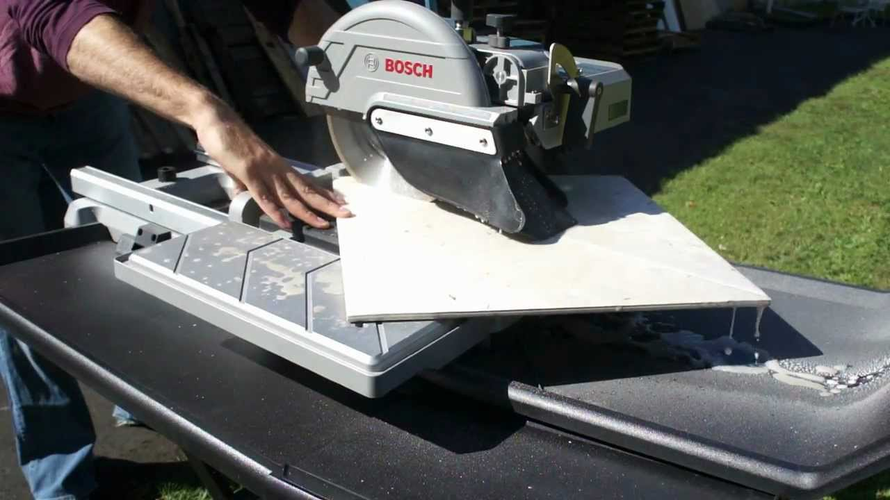 Bosch 10 wet stone tile saw tc10 07 cutting various materials bosch 10 wet stone tile saw tc10 07 cutting various materials youtube dailygadgetfo Gallery