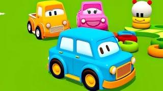 Мультики для самых маленьких: Умные Машинки! Игрушки для детей - Пирамидка