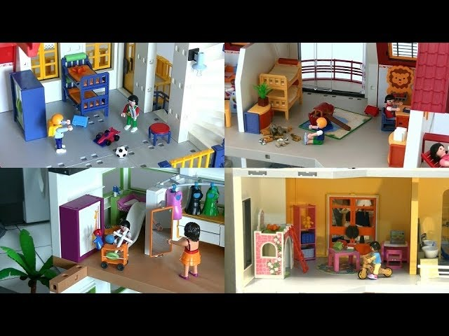 evolution playmobil fr la chambre d