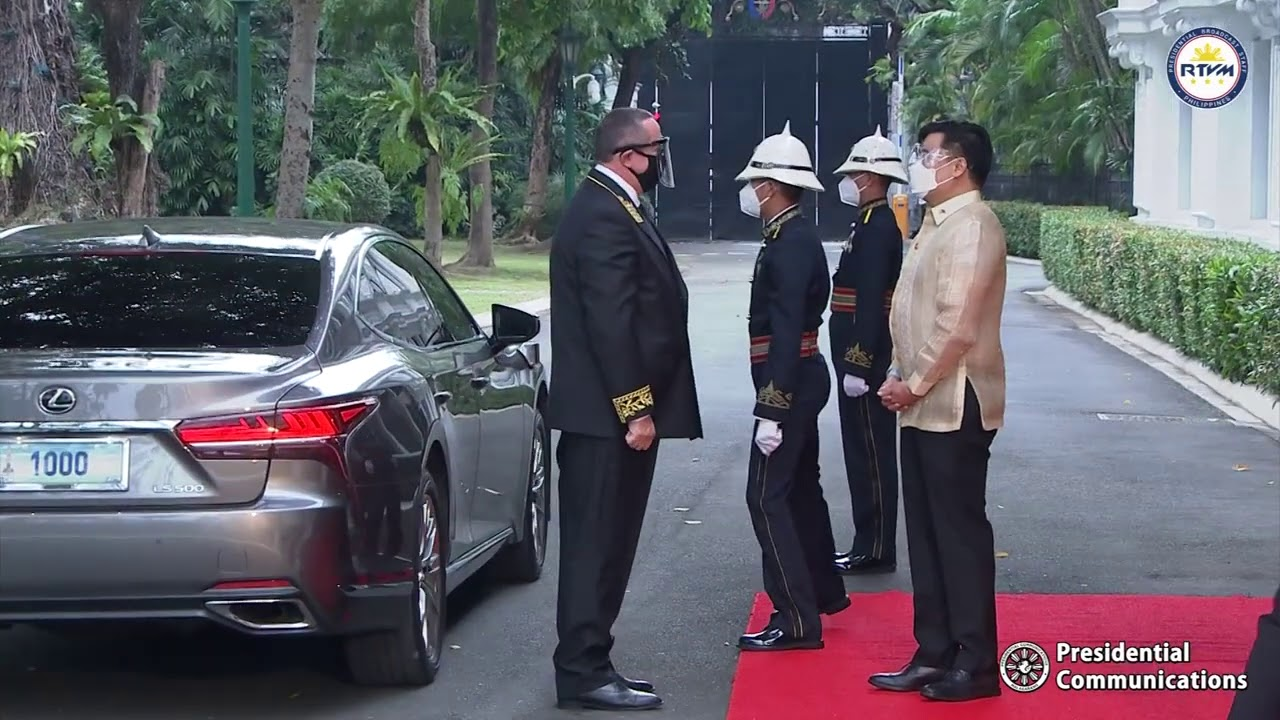 Virtual Presentation of Credentials of the Ambassador of the Russian Federation 12/2/2020
