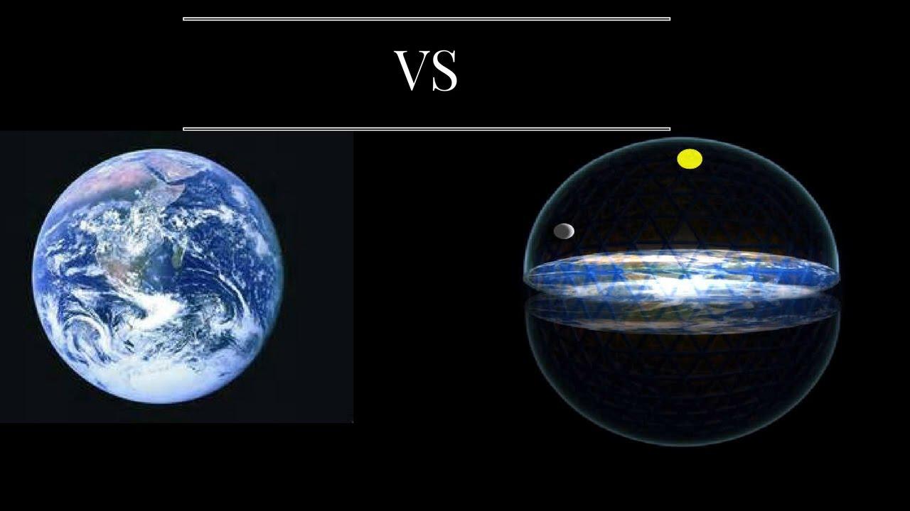 Flat Earth vs Spherical Earth - YouTube
