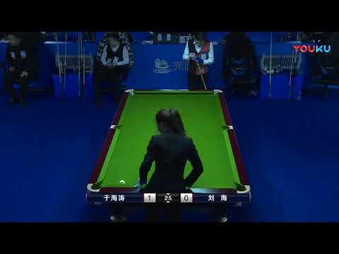 Yu Haitao VS Liu Hai - China Qualifier - 2018 World Chinese 8 Ball Masters Grand Final