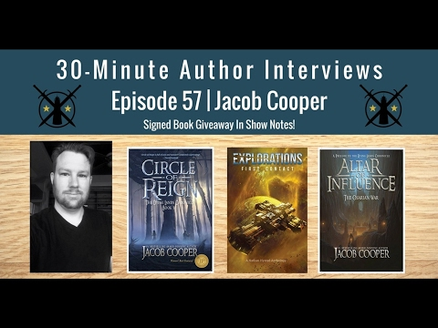 30-Minute Author Interviews | Episode 57 | Jacob Cooper