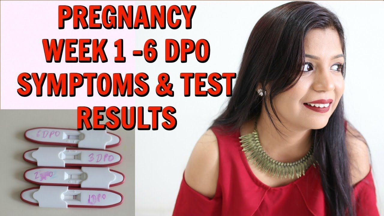 Pregnancy Two Weeks Wait SYMPTOMS 1 -6 DPO Leading To BFP Results |  SuperPrincessjo