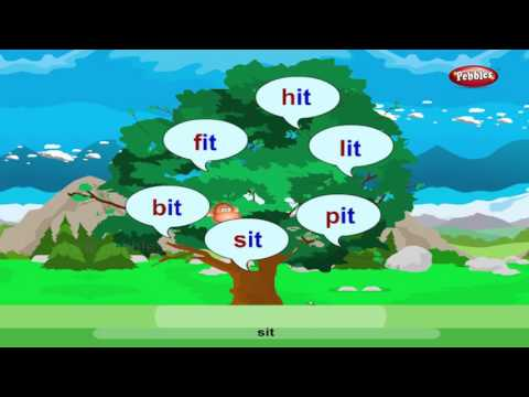 Phonics Rhyming Words   Learn Phonics For Kids   Alphabet Sounds