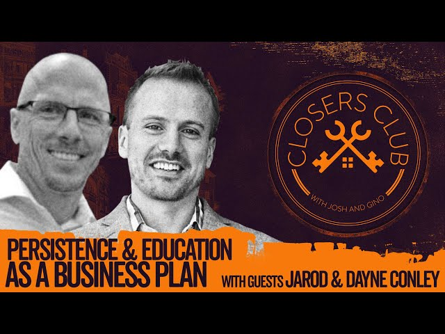 Persistence & Education as a Business Plan with Jarod & Dayne Conley -Movers and Shakers- Episode 78