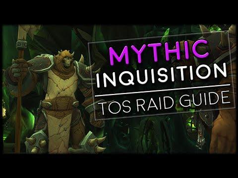DEMONIC INQUISITION MYTHIC - Tomb of Sargeras Raid Guide | World of Warcraft Legion