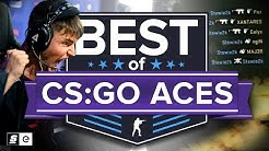 Best of CS:GO Aces (Legendary Plays, Pistol Aces, Ace Clutches and More)