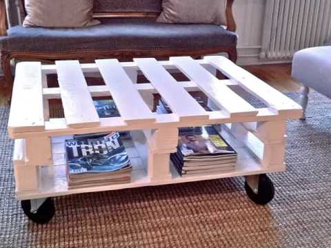 diy pallet coffee table | pictures of pallet furniture diy