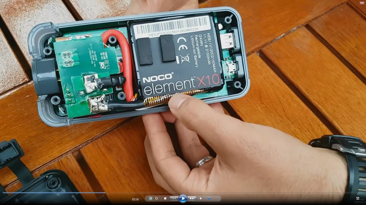 inside noco gb40 battery booster jump starter review [ 1280 x 720 Pixel ]