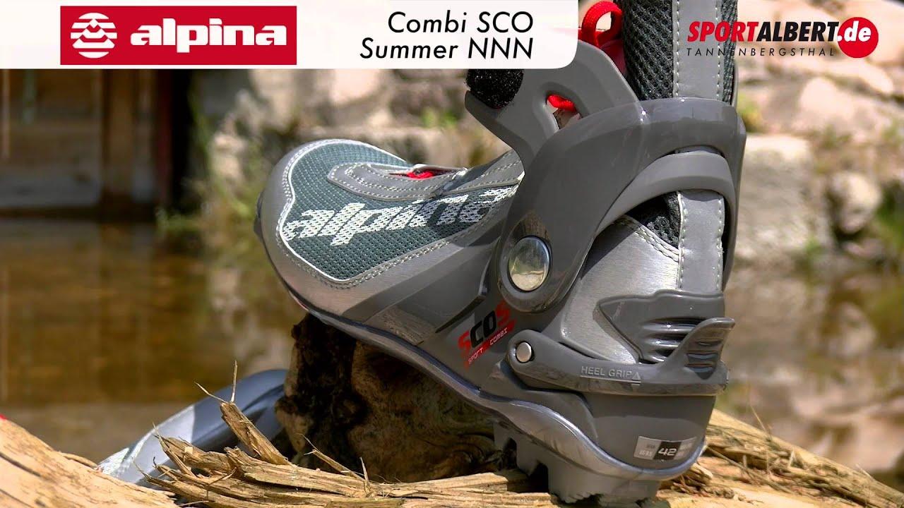 Alpina Roller Skiing Shoe Combi SCO Skate Classic Summer NNN Offered - Alpina combi boots