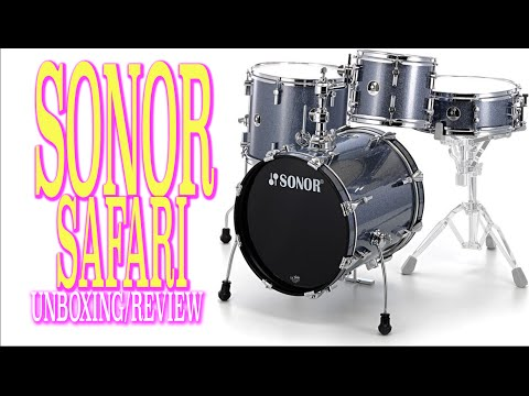 Sonor Safari | Review | Unboxing - Drums - Bateria - Ricky Molina