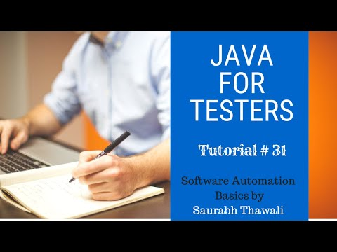 Java for Software Testers Tutorial#31- For Loop thumbnail