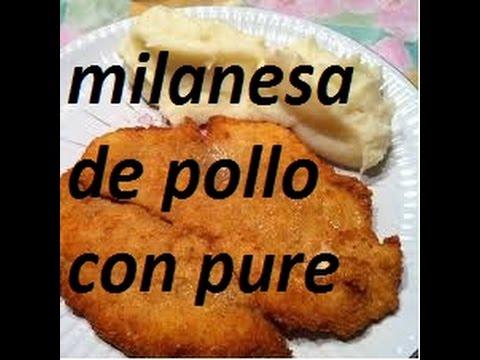 how to make milanesa de pollo in the oven