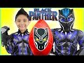 NEW Black Panther Giant Egg Surprise Toys for Kids Superhero costume Marvel Gauntlet juguetes