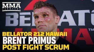 Bellator 212: Brent Primus Says Michael Chandler