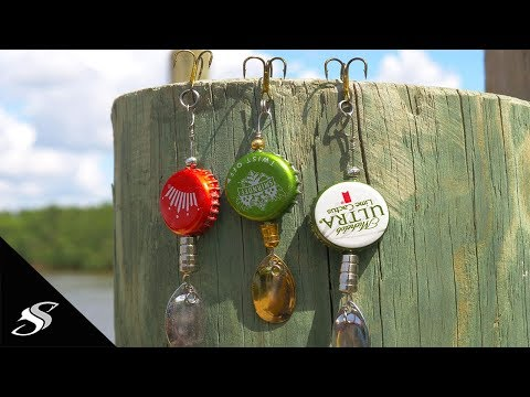Home Made Bottle Top Spinner Lure In Under 5 Minutes!