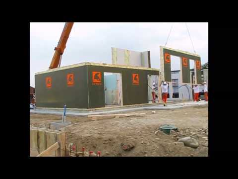 Prefabricated house in 7 days , Makeover Home Edition 2013