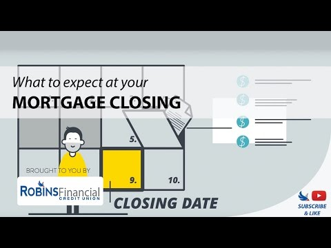 What To Expect At Your Mortgage Closing: Robins Financial Credit Union