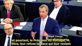 Nigel Farage : Nous vivons dans une Europe à la sauce Brejnev