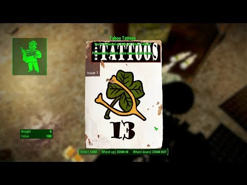 Fallout 4 Ep 259 Taboo Tattoos 13 Issue 1 Mass Pike Tunnel