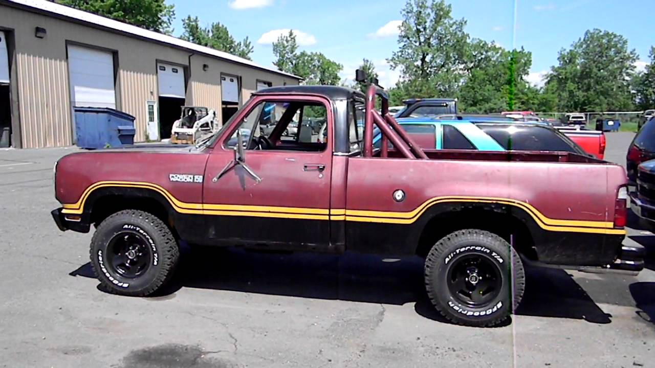 2014 Retro Entertainment additionally Index20 as well 1977 Dodge Ramcharger 7 furthermore 7778rmcgr together with Legacy Classic Power Wagon. on 1979 dodge macho power wagon
