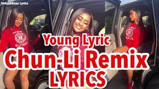 "Nicki Minaj ""Chun-Li"" Remix ft. Young Lyric #ChunLiChallenge LYRICS"