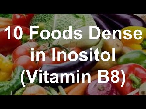 What foods have inositol