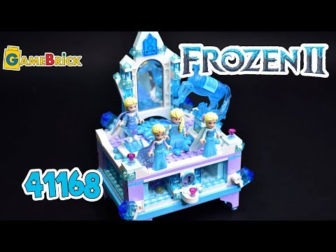 ЛЕГО 41168 Холодное Сердце 2 Шкатулка Эльзы обзор [GameBrick]