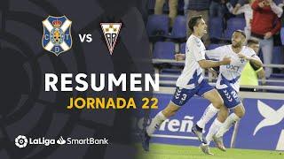 Resumen de CD Tenerife vs Albacete BP (4-2)