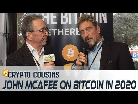 Interview With John McAfee | 2018 Bitcoin Ethereum Blockchain Super Conference