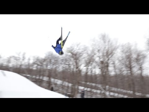 Stephen Gostkowski Wachusett Mountain Backflip