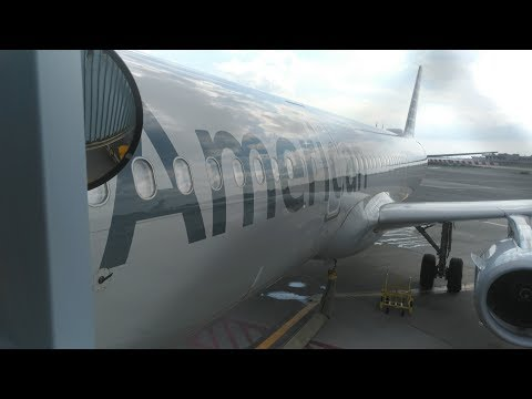 American Airlines A321 MCE Economy Class JFK-LAX, Round The World 6-6