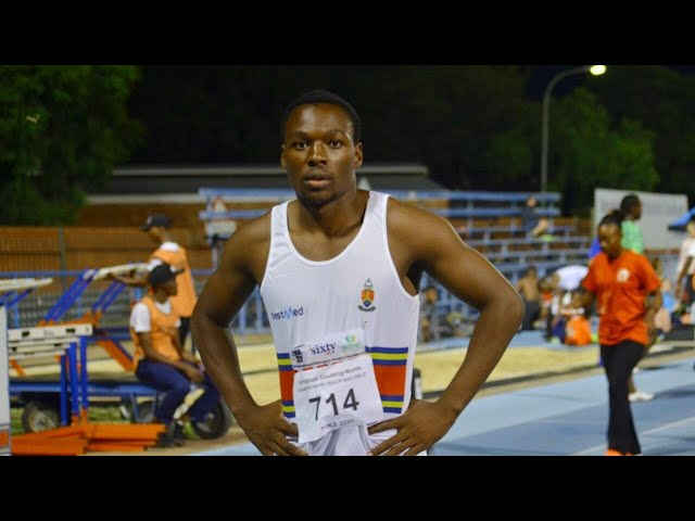 Clarence Munyai 200m 20.23 Olympic Games Qualifier
