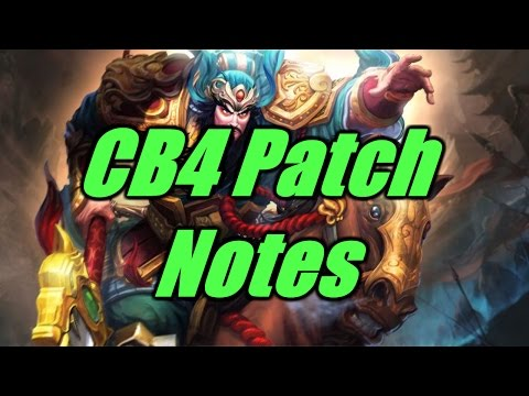 [SMITE Tactics] CB4 PATCH NOTE - MEDUSA IS MORE OP NOW !!!