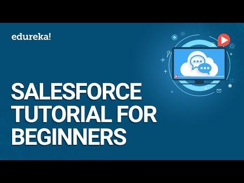 Salesforce Tutorial For Beginners | Introduction To Salesforce | Salesforce Training | Edureka