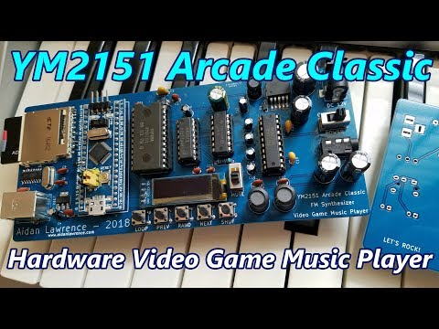 YM2151 Arcade Classic Video Game Music Player