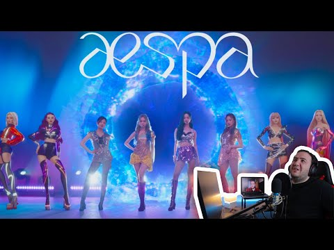 aespa 에스파 'Black Mamba' The Debut Stage Reaction Video