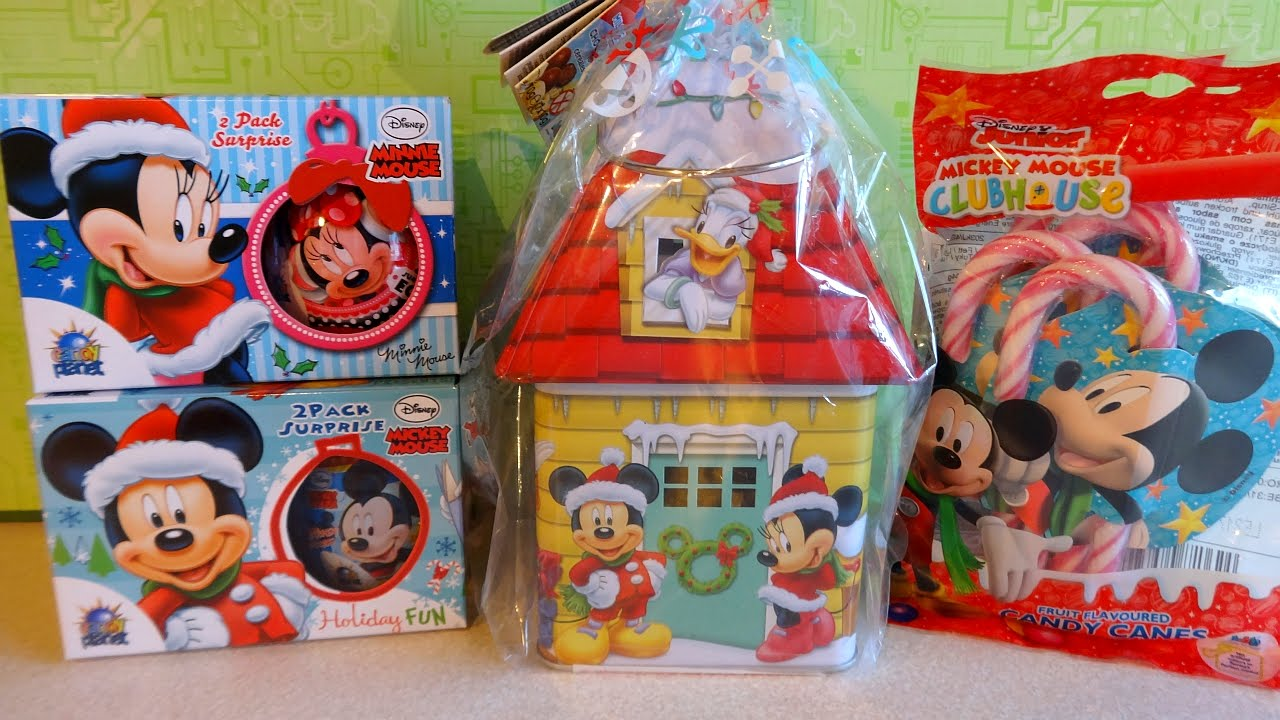 Disney Mickey - Minnie Mouse and Friends Christmas Surprise House ...