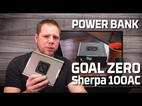 Goal Zero Sherpa 100AC Power Bank Review