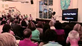 Your voice is your power | John Paul Taylor | TEDxBirminghamSalon