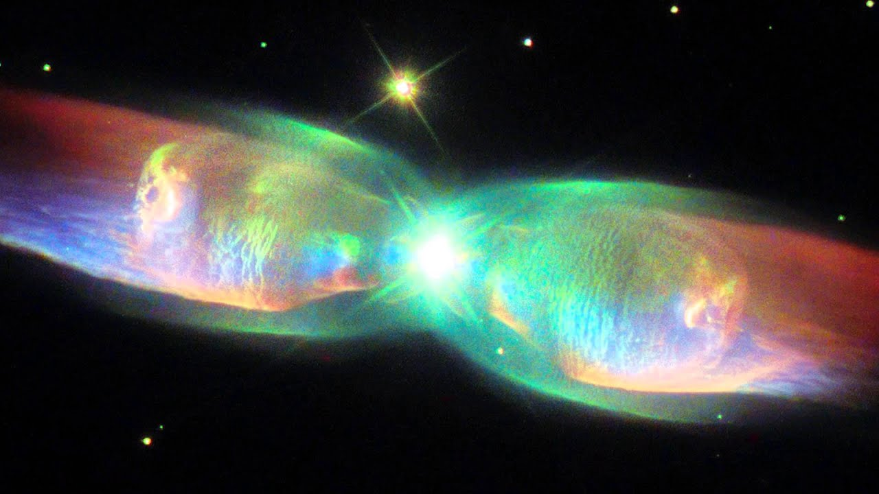 Black Hole Live Wallpaper Hubblecast 86 The Wings Of The Twin Jet Nebula Youtube
