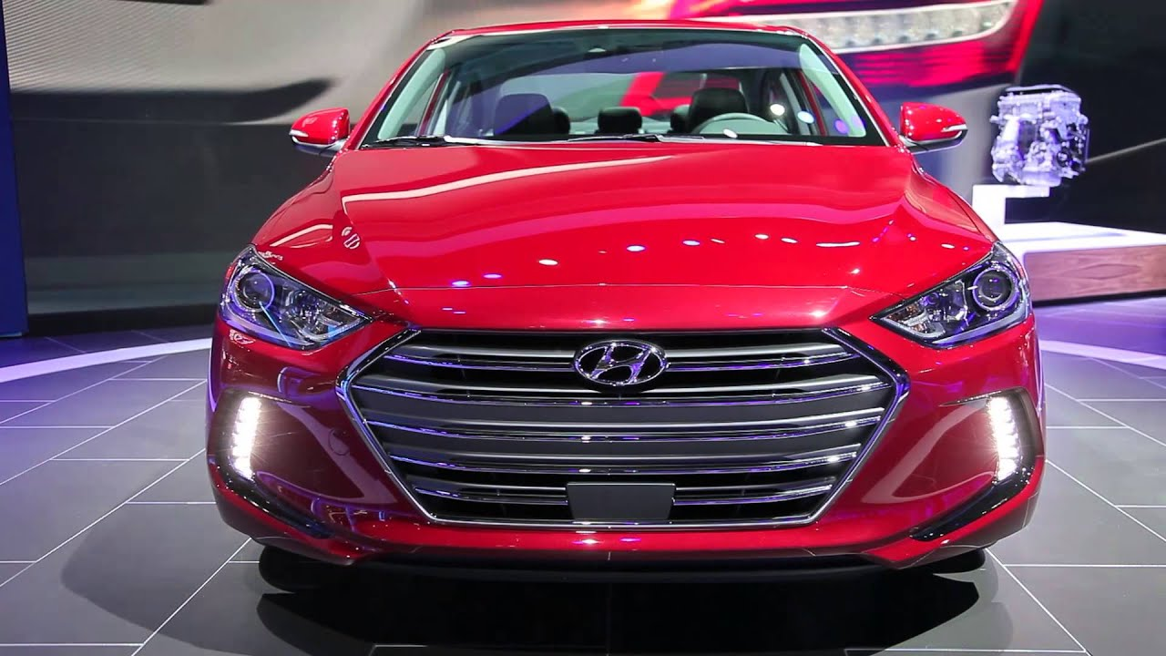 Red 2017 Hyundai Elantra >> 2017 Hyundai Elantra Video Preview Youtube