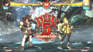 guilty gear xrd rev 2 gameplay on HARD no commentary