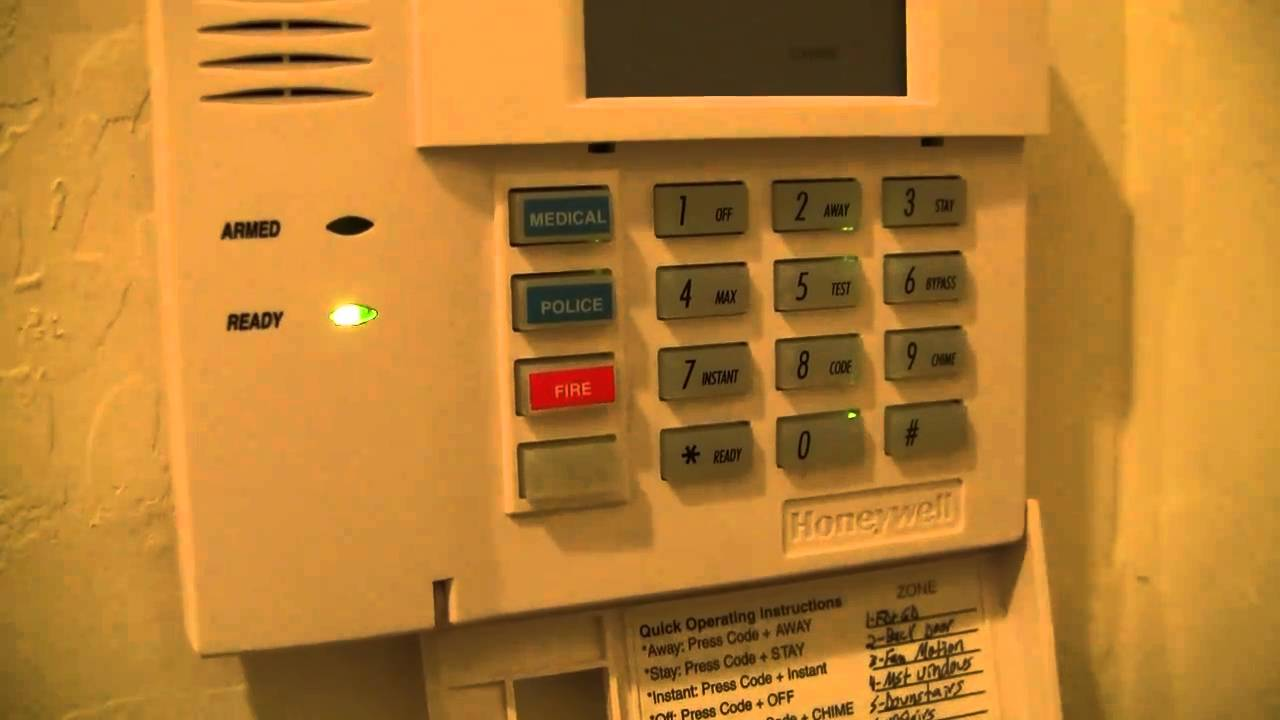 honeywell alarm panel 6160 manual