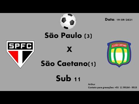 Download Sub 11 São Paulo VS São Caetano (1°Tempo)