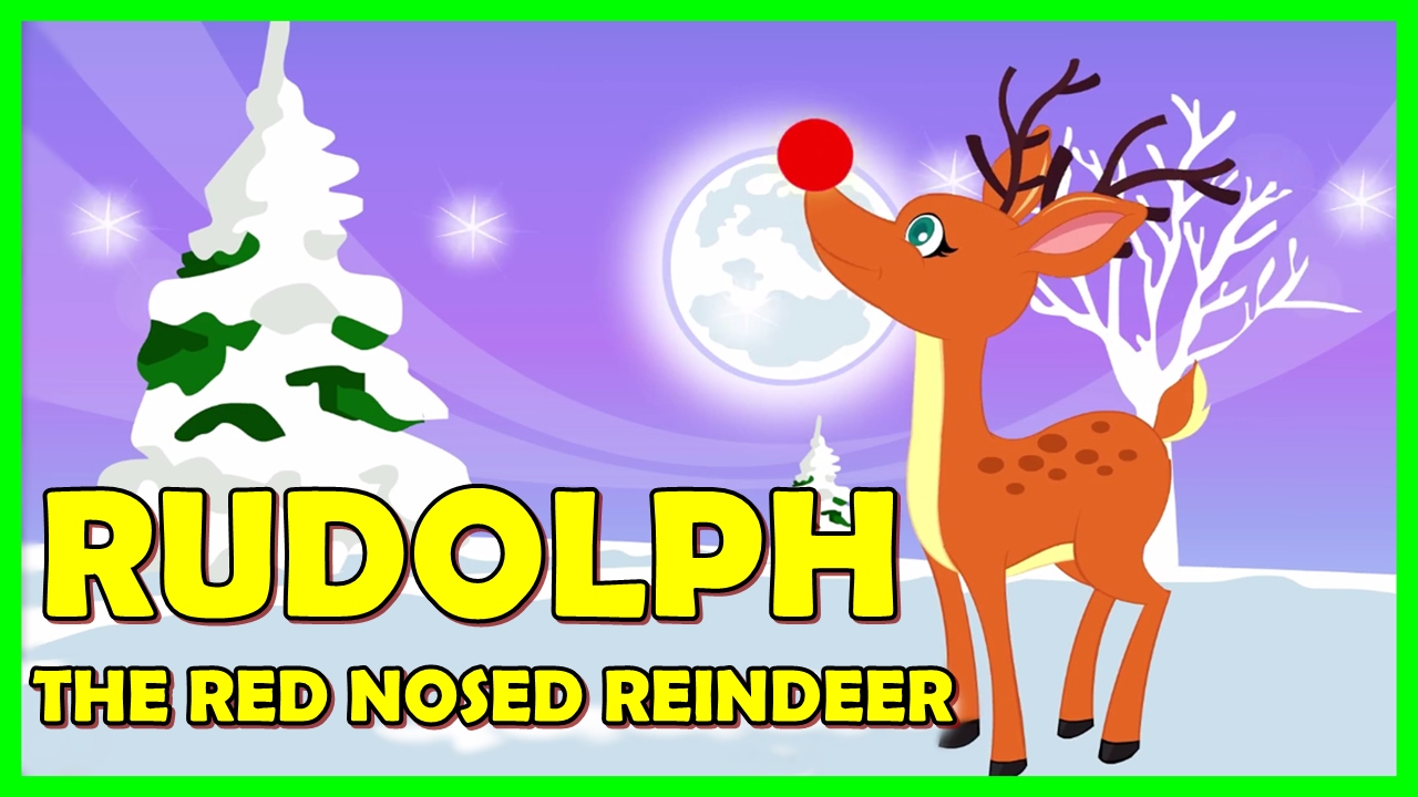 Uncategorized Rudolph The Red Nosed Reindeer Song Video rudolph the red nosed reindeer song with lyrics rulolph tickling toddlers