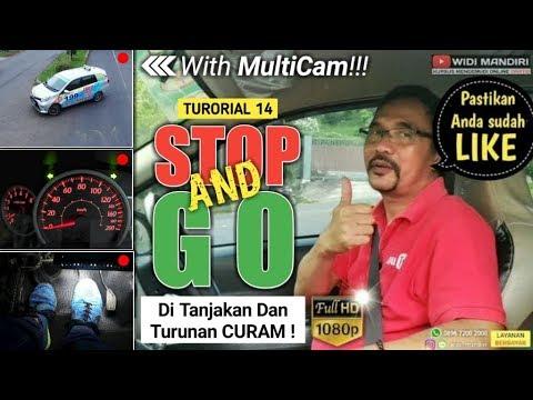 CARA MUDAH STOP AND GO DI TANJAKAN & TURUNAN YANG CURAM   TUTORIAL 14